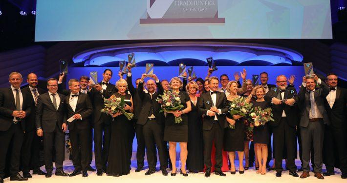 """Herzlichen Glückwunsch an die Gewinner des """"Headhunter of the Year""""-Awards 2017"""